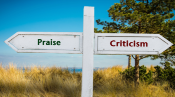 What is your praise versus criticism ratio?